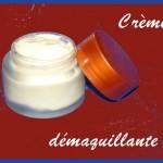 Crème démaquillante (avec beurre Nilotica à froid)