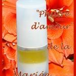 """Lotion """"philtre d'amour"""" de la mariée"""