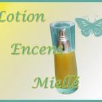 """Lotion """"Encens miellé"""" – le jaune (2)"""