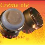 Crème spéciale été à la gelée royale
