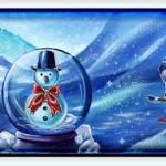 Tableau Noël 2015 et carte